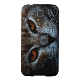 Сonfident cat galaxy s5 cover