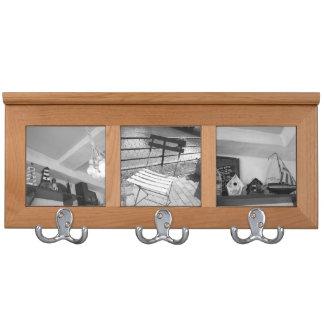 モノクロ写真コートフックvol001 coat rack