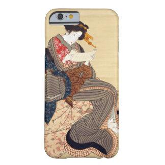 女, 国貞 Woman, Kunisada, Ukiyo-e Barely There iPhone 6 Case