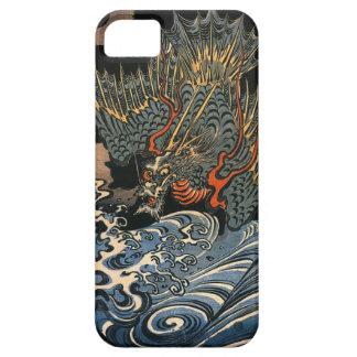 海龍, 国芳, Sea Dragon, Kuniyoshi, Ukiyo-e iPhone 5 Covers