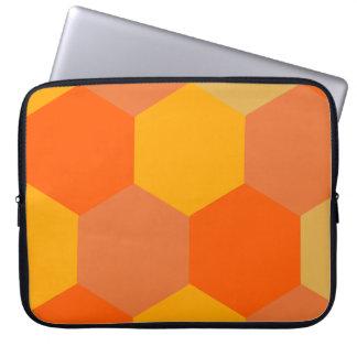 蜂 巣暖色系 パソコンケース ノートパソコンスリーブ