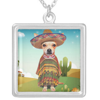 000-mexican silver plated necklace