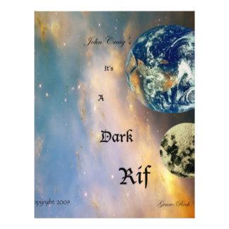 001 Dark Rif Album Cover (front) 21.5 Cm X 28 Cm Flyer