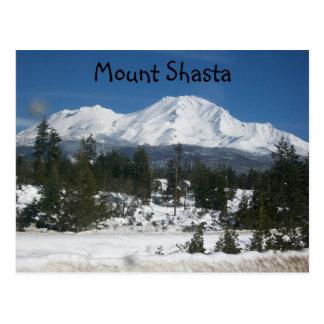 001, Mount Shasta Postcard