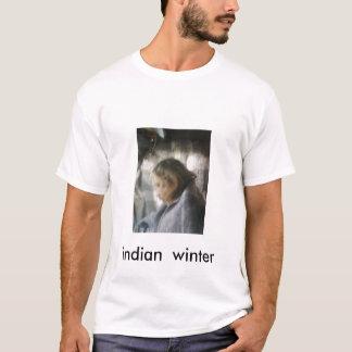 010410075327_01, indian  winter T-Shirt