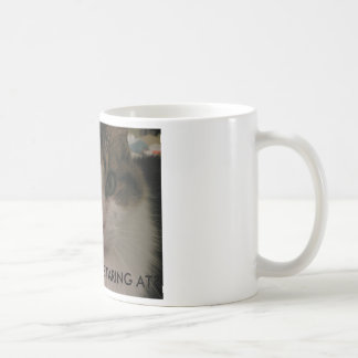 010, WHAT ARE YOU STARING AT? CAT MUG