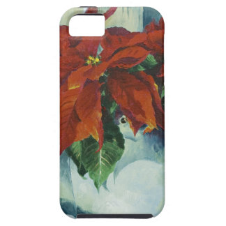 0525 Poinsettia in Watering Can iPhone 5 Covers