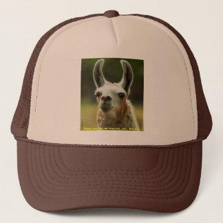 092810-35-AH   THE NAME IS PACA...AL PACA TRUCKER HAT