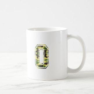#0 Green & Yellow Camo Coffee Mug