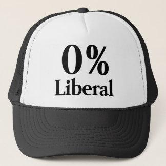 0% Liberal Trucker Hat