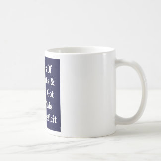 !0 Years of The Bush Tax Cuts for the Wealthy Basic White Mug