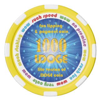 1000 LDOGE Poker Chip Poker Chips