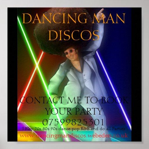 1003255_ec4e_625x1000, DANCING MAN DISCOS, CONT... Posters