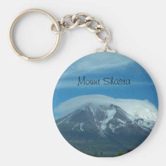 100_1099, Mount Shasta Basic Round Button Key Ring