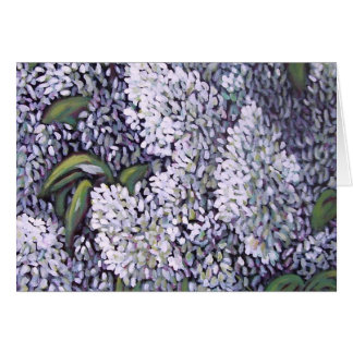 100_2089 White Lilacs Greeting Card