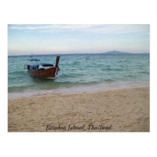 100_3577, Bamboo Island, Thailand Postcard