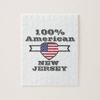 100% American, New Jersey Jigsaw Puzzle