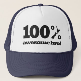 100% Awesome New Zealand Trucker Hat