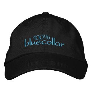 100% bluecollar baseball cap
