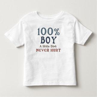 100% Boy Fun Saying Toddler T-Shirt