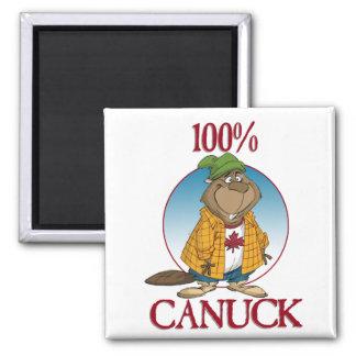 100% Canuck Magnet