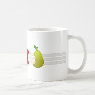 100% Fruit Basic White Mug