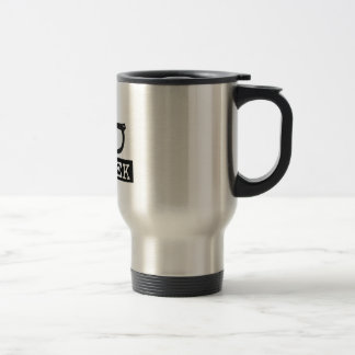 100% Geek Stainless Steel Travel Mug
