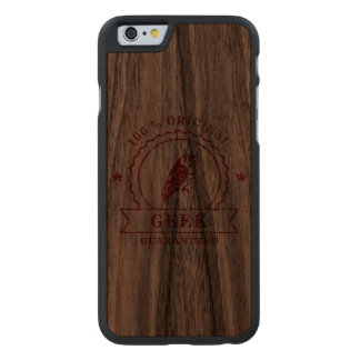 100% Geek Owl - iPhone 6 Slim Wood Case