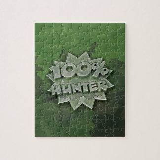 100% Hunter Jigsaw Puzzle