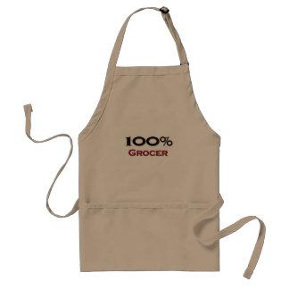 100 Percent Grocer Standard Apron