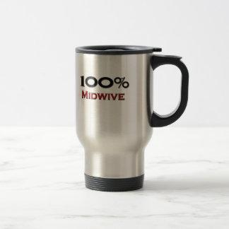 100 Percent Midwive Travel Mug