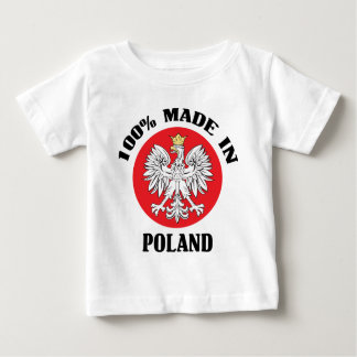 100% Poland Baby T-Shirt