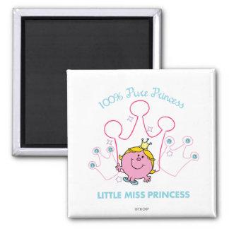 100% Pure Princess - Little Miss Princess Magnet