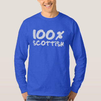 100% Scottish Long Sleeve Shirt