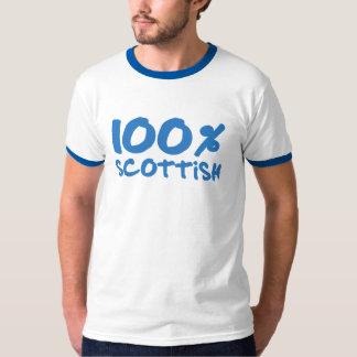 100% Scottish Ringer Shirt