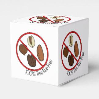 100% Tree Nut Free Favour Box