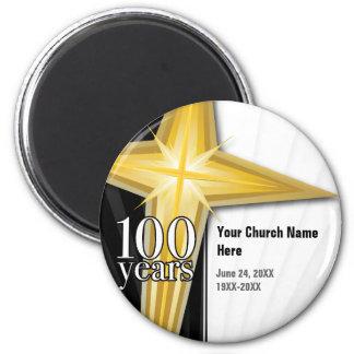 100 Year Church Anniversary Magnet