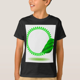 100Green Icon_rasterized T-Shirt