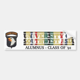 101st Airborne Div. U of Southwest Asia Sticker