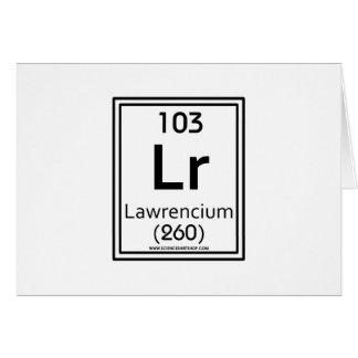 103 Lawrencium Card