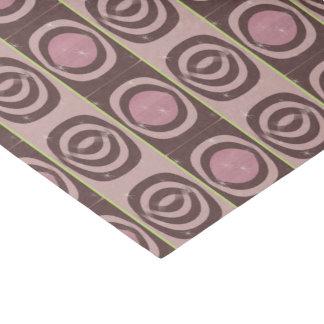 "10"" x 15"" Tissue Paper RETRO MAUVE PATTERN"