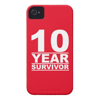 10 year survivor iPhone 4 case