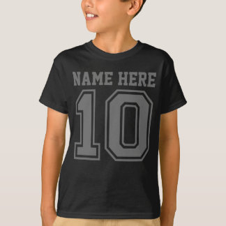 10th Birthday (Customisable Kid's Name) T-Shirt