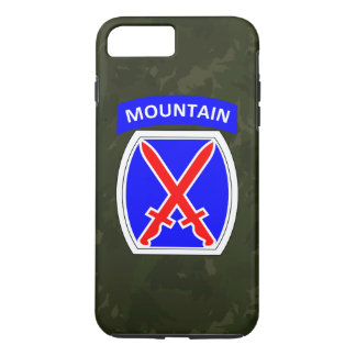 "10th Mountain Division ""Climb to Glory"" Camo iPhone 7 Plus Case"