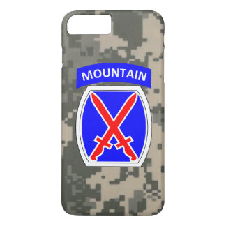 "10th Mountain Division ""Climb to Glory"" iPhone 7 Plus Case"