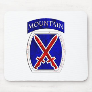 10th Mountain Division Mouse Pad