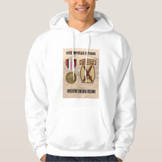 10th Mountain Division Operation Enduring Freedom  Hoodie