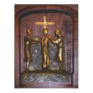 10th Station of the Cross Postcard