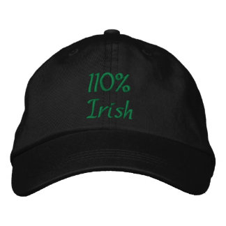 110% Irish Embroidered Hat