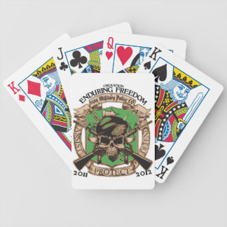 1186 Military Police Enduring Freedom Card Deck